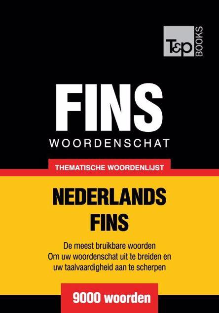 Picture of Thematische woordenschat Nederlands-Fins - 9000 woorden