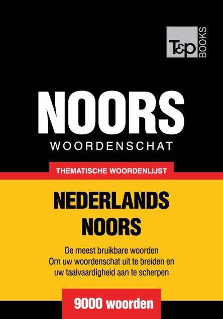 Picture of Thematische woordenschat Nederlands-Noors - 9000 woorden