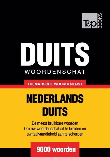 Picture of Thematische woordenschat Nederlands-Duits - 9000 woorden