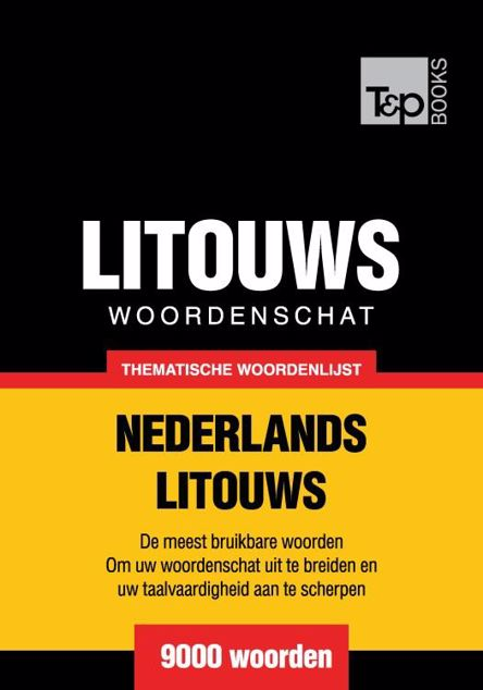 Picture of Thematische woordenschat Nederlands-Litouws - 9000 woorden