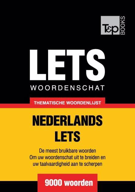 Picture of Thematische woordenschat Nederlands-Lets - 9000 woorden