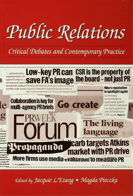 Picture of Public Relations: Critical Debates and Contemporary Practice