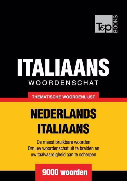 Picture of Thematische woordenschat Nederlands-Italiaans - 9000 woorden