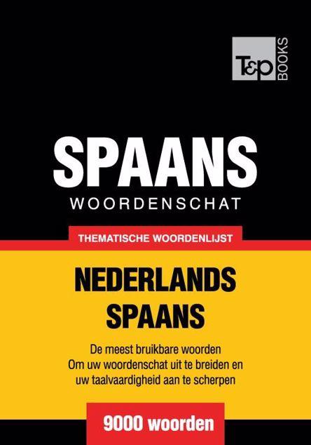 Picture of Thematische woordenschat Nederlands-Spaans - 9000 woorden