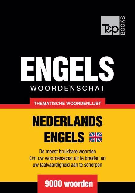 Picture of Thematische woordenschat Nederlands-Brits-Engels - 9000 woorden