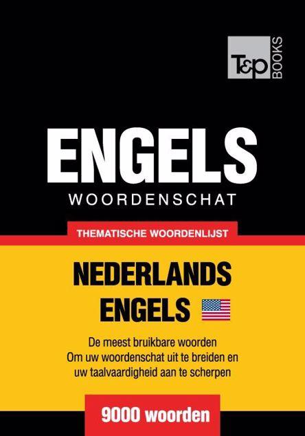 Picture of Thematische woordenschat Nederlands-Amerikaans-Engels - 9000 woorden