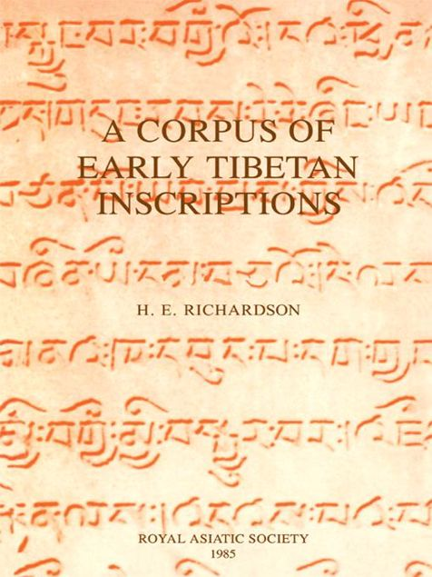 Picture of A Corpus of Early Tibetan Inscriptions