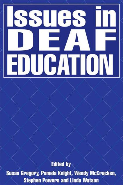 Picture of Issues in Deaf Education