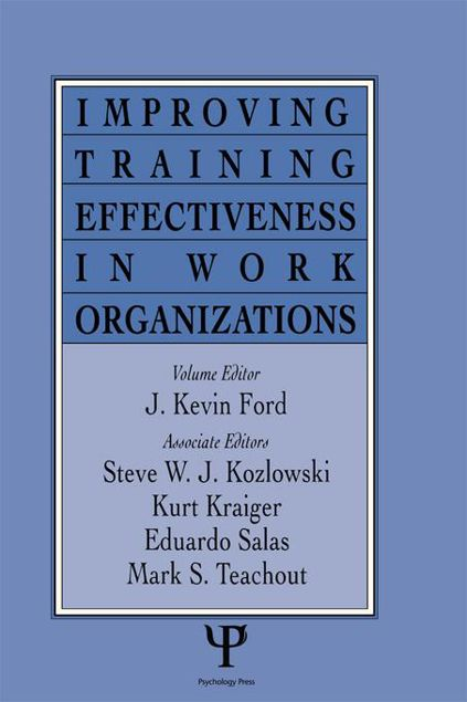 Picture of Improving Training Effectiveness in Work Organizations