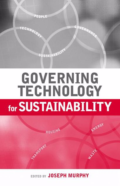 Picture of Governing Technology for Sustainability