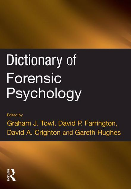 Picture of Dictionary of Forensic Psychology