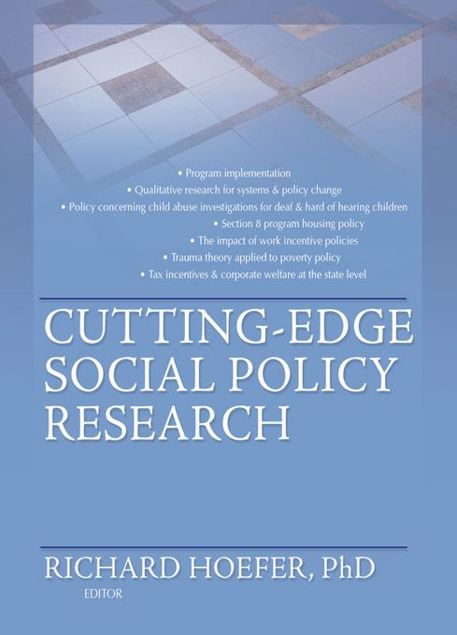 Picture of Cutting-Edge Social Policy Research