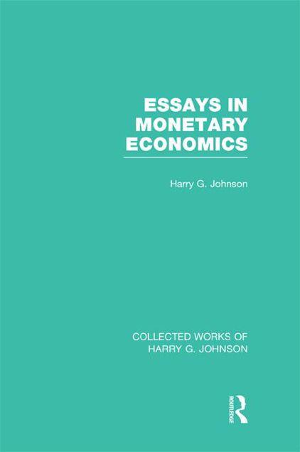 Picture of Essays in Monetary Economics