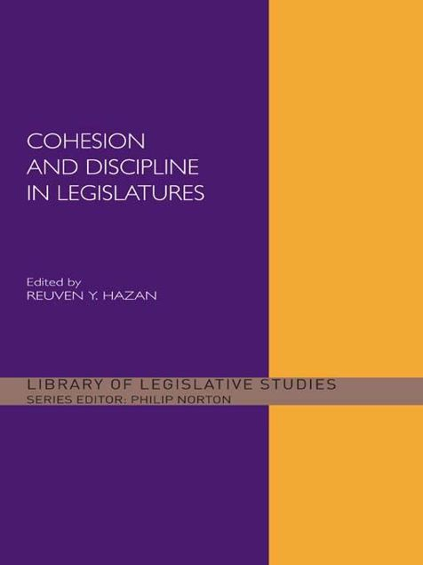 Picture of Cohesion & Discipline in Legislatures