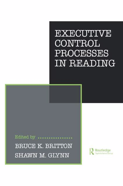 Picture of Executive Control Processes in Reading