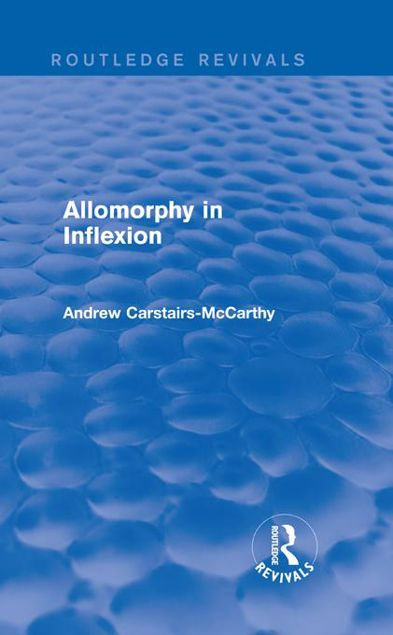 Picture of Allomorphy in Inflexion