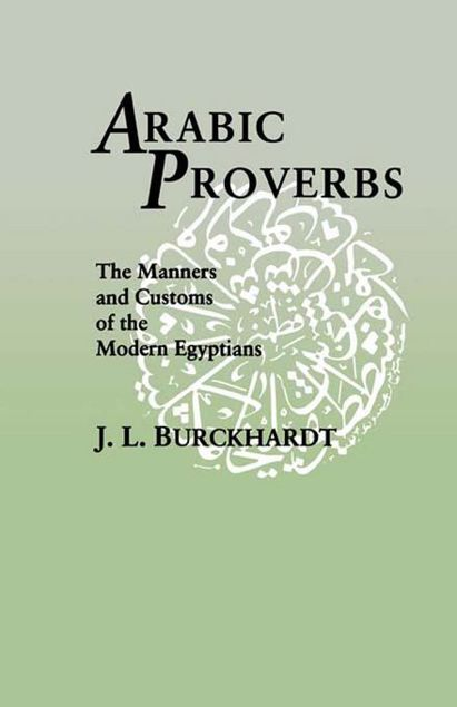 Picture of Arabic Proverbs: The Manners and Customs of the Modern Egyptians