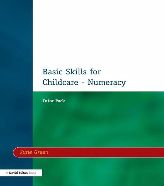 Picture of Basic Skills for Childcare - Numeracy: Tutor Pack