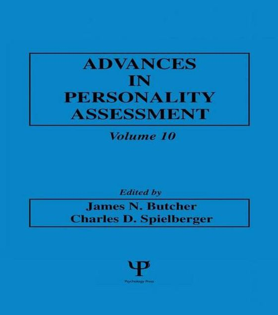Picture of Advances in Personality Assessment: Volume 10