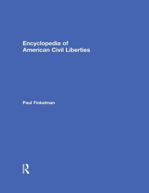 Picture of Encyclopedia of American Civil Liberties