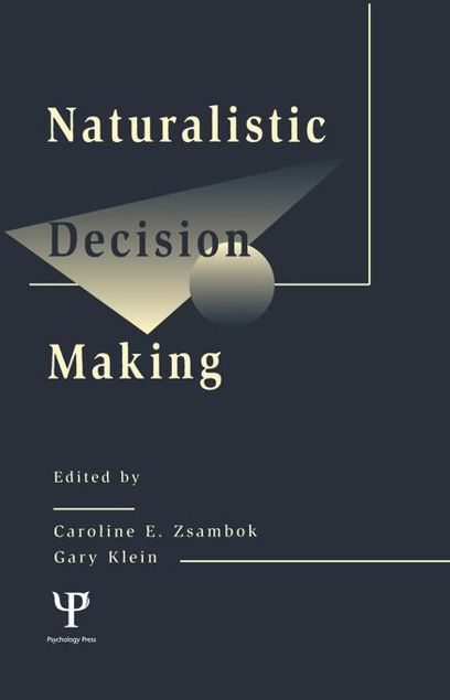 Picture of Naturalistic Decision Making