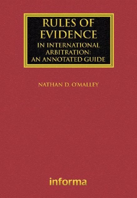 Picture of Rules of Evidence in International Arbitration: An Annotated Guide