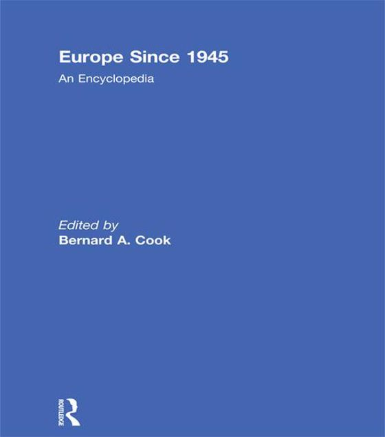 Picture of Europe Since 1945: An Encyclopedia