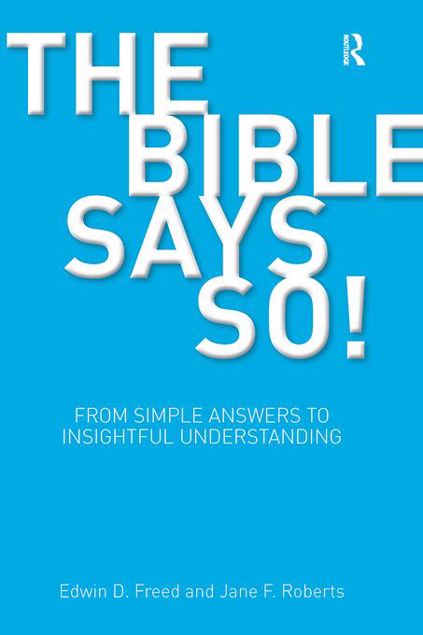 Picture of The Bible Says So!: From Simple Answers to Insightful Understanding