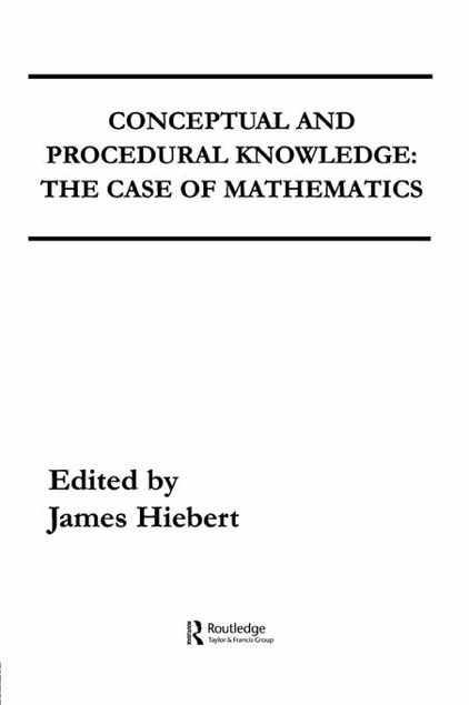 Picture of Conceptual and Procedural Knowledge: The Case of Mathematics
