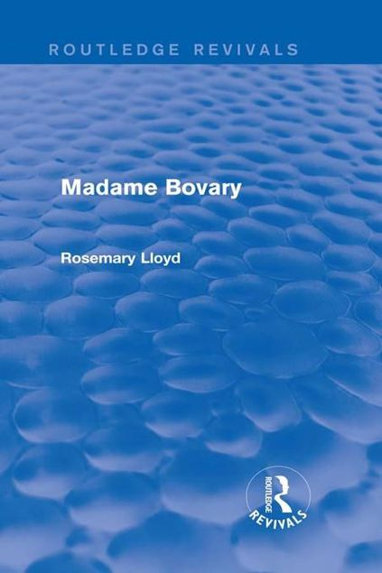 Picture of Madame Bovary (Routledge Revivals)