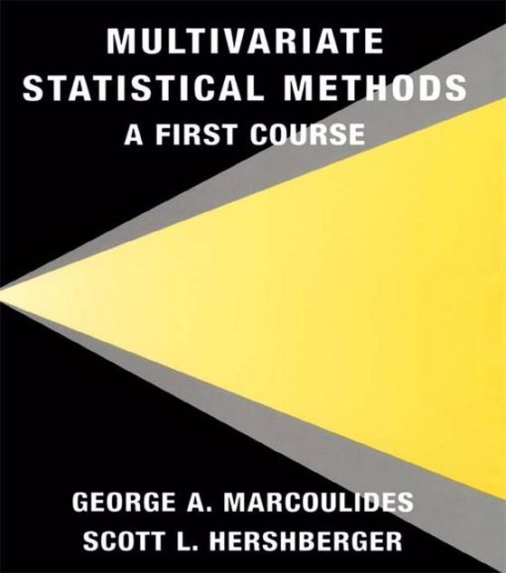 Picture of Multivariate Statistical Methods: A First Course