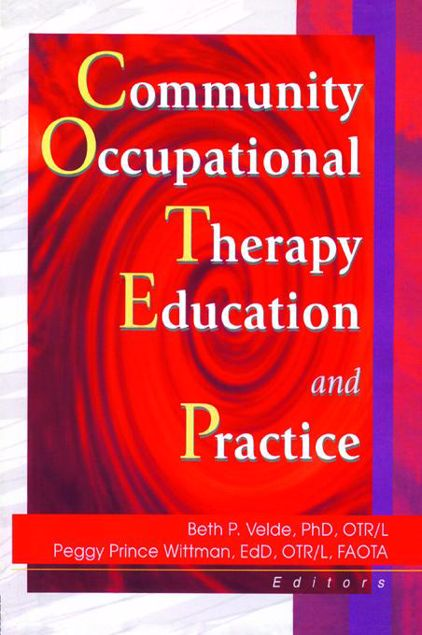 Picture of Community Occupational Therapy Education and Practice