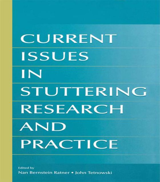 Picture of Current Issues in Stuttering Research and Practice