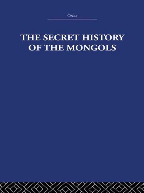 Picture of The Secret History of the Mongols: And Other Pieces