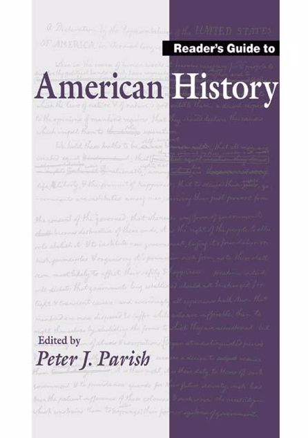 Picture of Reader's Guide to American History