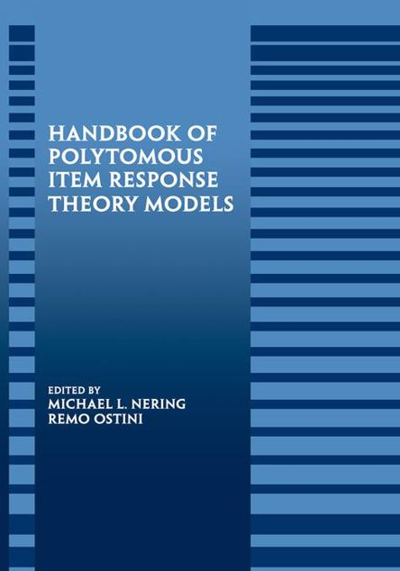 Picture of Handbook of Polytomous Item Response Theory Models