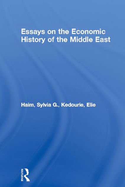 Picture of Essays on the Economic History of the Middle East