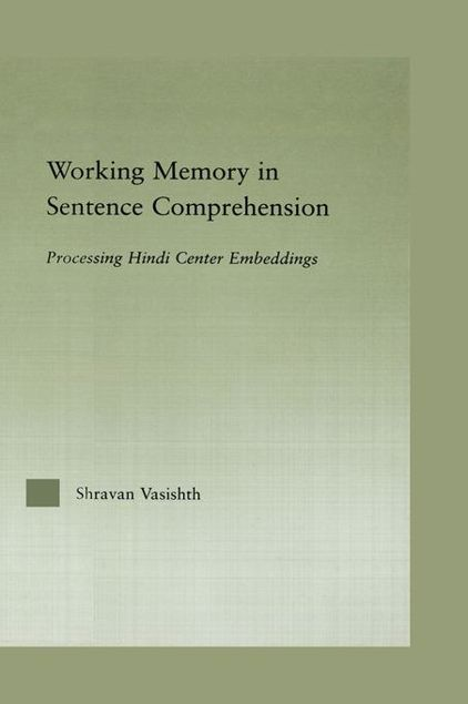 Picture of Working Memory in Sentence Comprehension: Processing Hindi Center Embeddings