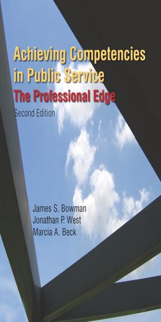 Picture of Achieving Competencies in Public Service: The Professional Edge: The Professional Edge
