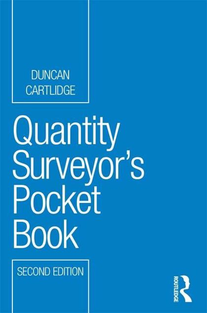 Picture of Quantity Surveyor's Pocket Book