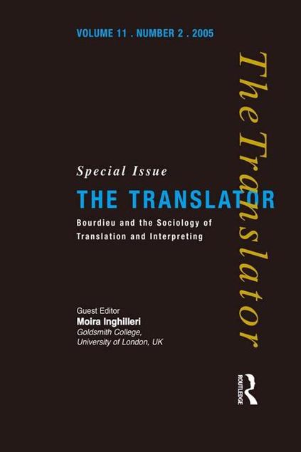 Picture of Bourdieu and the Sociology of Translation and Interpreting