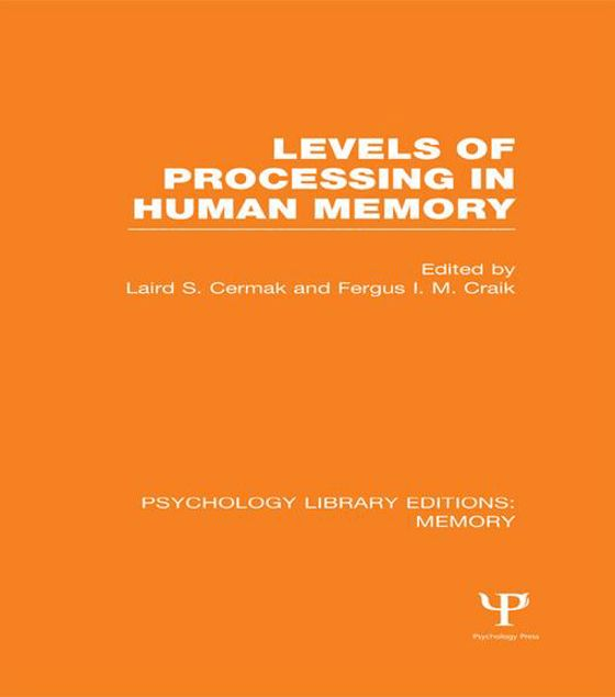Picture of Levels of Processing in Human Memory (PLE: Memory)