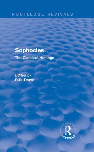 Picture of Sophocles: The Classical Heritage: The Classical Heritage