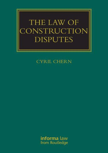 Picture of The Law of Construction Disputes
