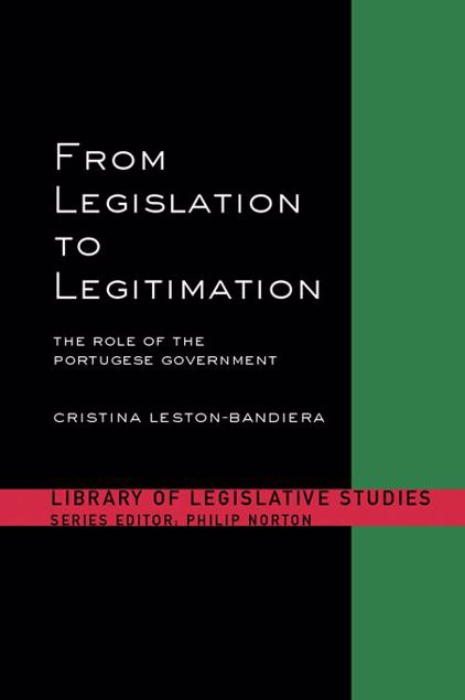 Picture of From Legislation to Legitimation: The Role of the Portuguese Parliament
