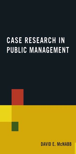 Picture of Case Research in Public Management