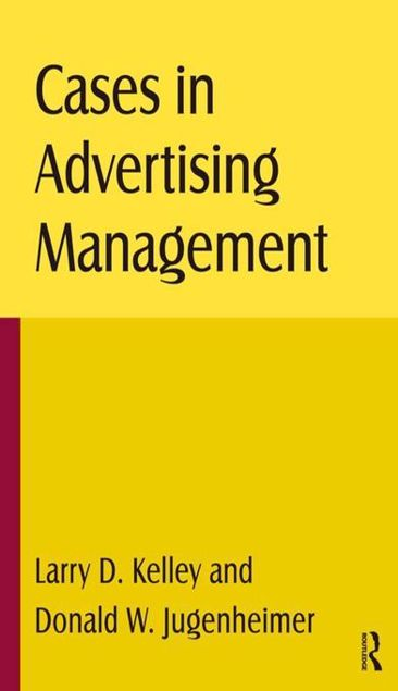 Picture of Cases in Advertising Management