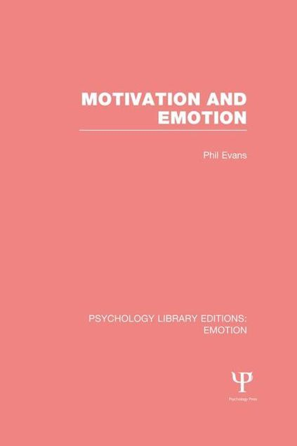 Picture of Motivation and Emotion (PLE: Emotion)
