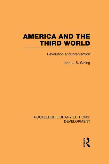 Picture of America and the Third World: Revolution and Intervention