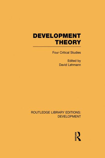 Picture of Development Theory: Four Critical Studies